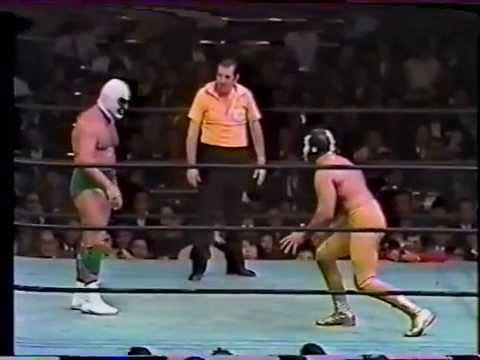 Mil Máscaras vs The Destroyer  US heavyweight championship ☆1973