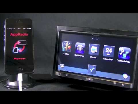 AppRadio SPH-DA100 compatible iPhone 5