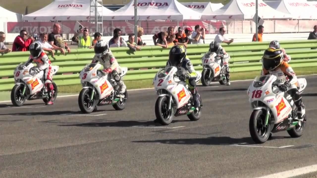 Albacete Circuit : Honda nsf100 european cup final 2010 circuit van albacete youtube