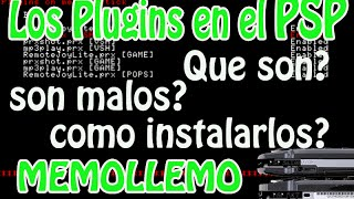 Los PLUGINS en el PSP | que son? como instalarlos? |