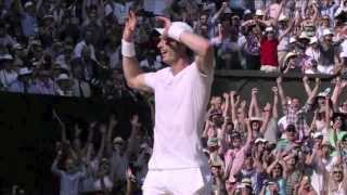 Andy Murray - Wimbledon Champion (HD)