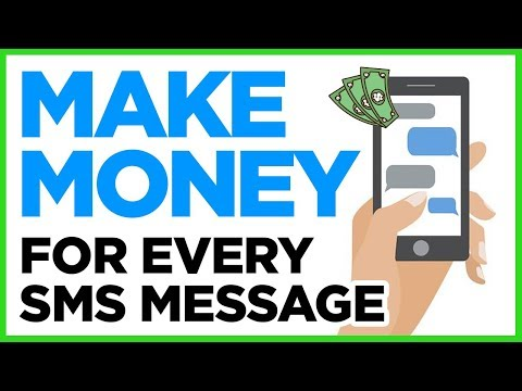 Make Money Receiving Text & SMS Messages On Your Phone (PayPal Money)
