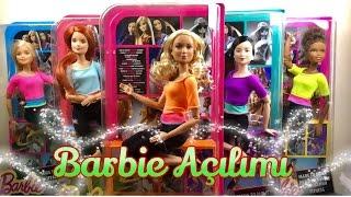 5 Adet Barbie Sonsuz Hareket Açılımı - Türkçe Barbie Videoları
