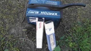 Электроды Linkoln electric VS лосиноостровские, давид против голиафа...