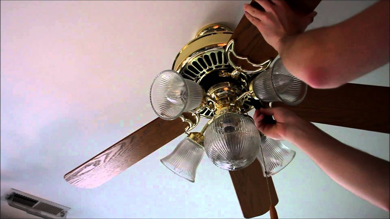 Can I Install Ceiling Fan Blades Eventually