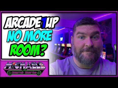 Arcade1Up No More Room? | MichaelBtheGameGenie from MichaelBtheGameGenie