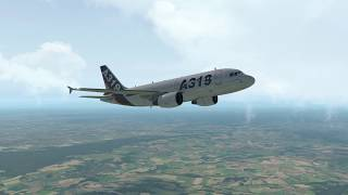 Part II   Initial climb to FL210 Toliss A319