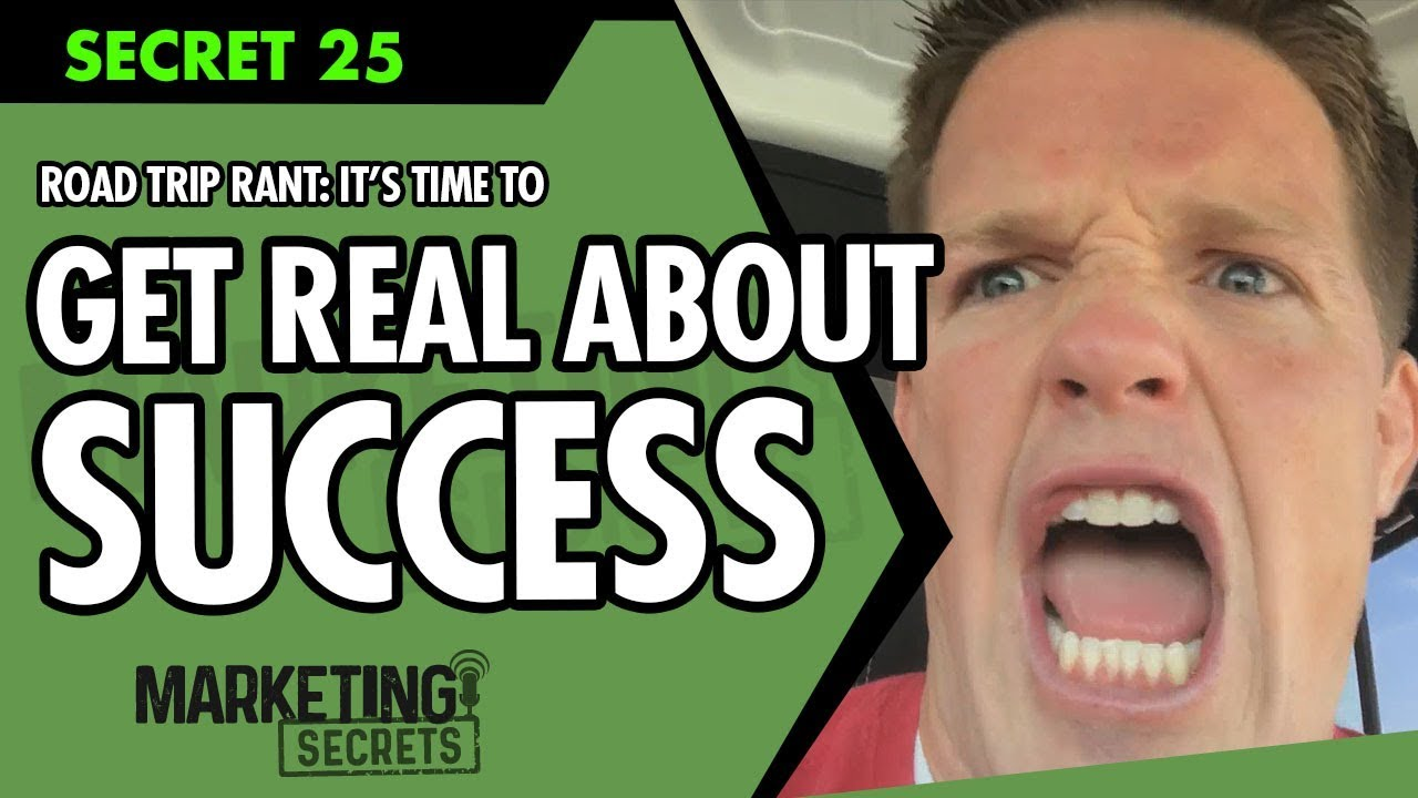 Road Trip Rant: My REAL Talk On How To Be Successful and Make It Big