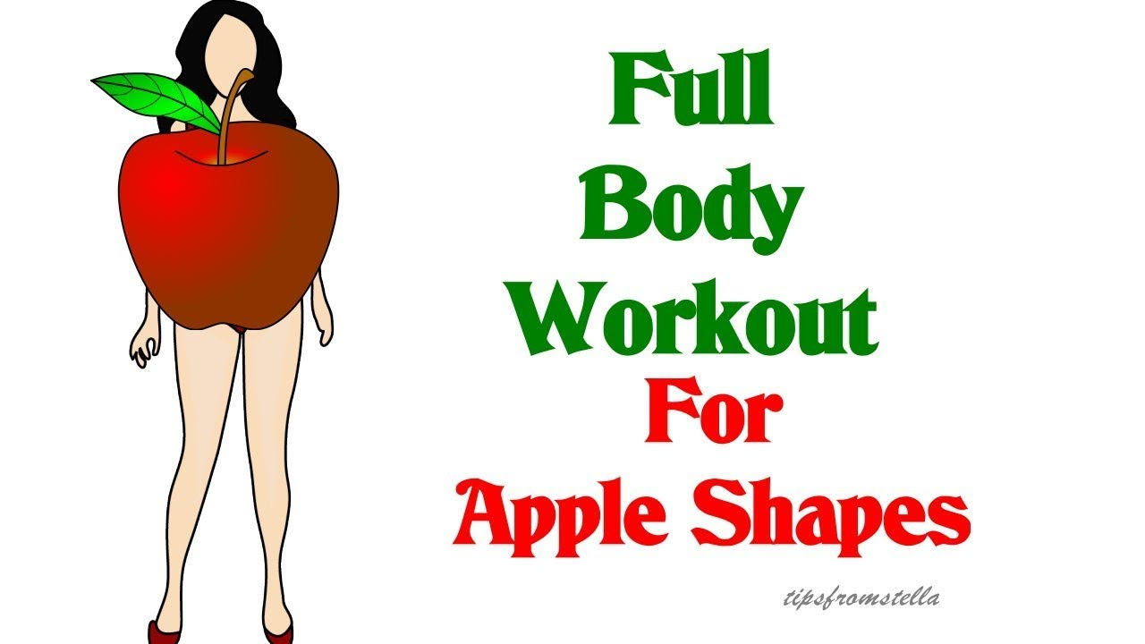 Apple Body Shape Workout: 10 Minute Full Body Workout