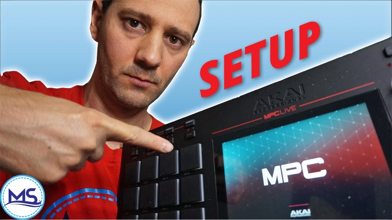 MPC Live Setup for Beginners