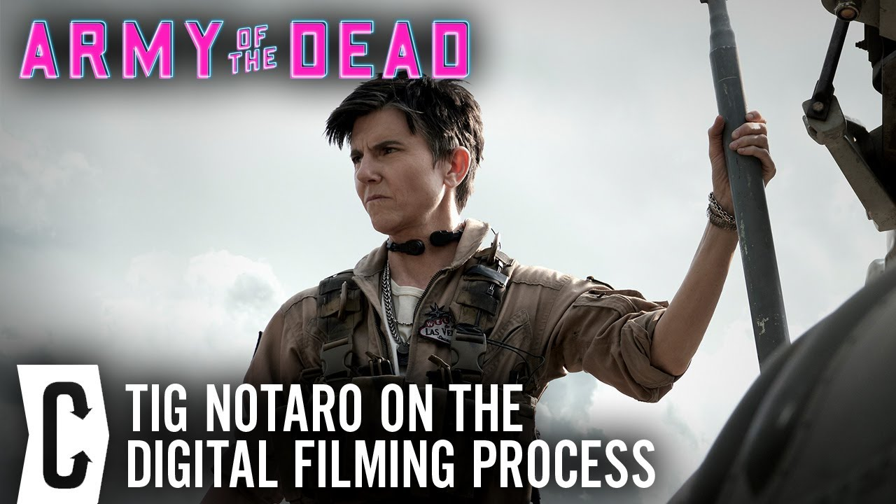 Army of the Dead Interview: Tig Notaro on Being Green-Screened Into the Zack Snyder Movie