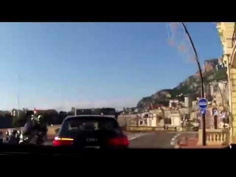 From Nice to Monaco - Autolla rantatietä Nizzasta Monacoon