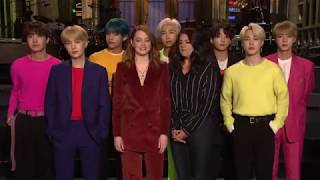 BTS X SNL with Emma Stone and Cecily Strong Teaser