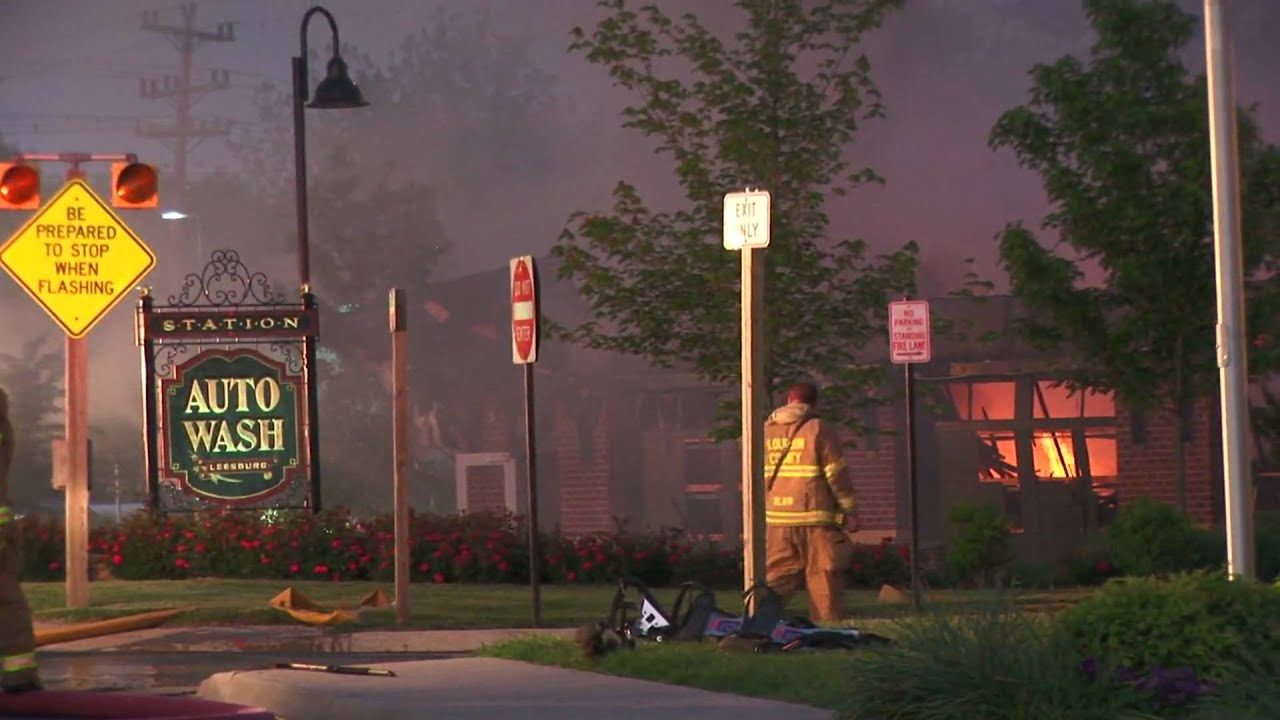 Car Wash Leesburg Va: Leesburg VA Fire