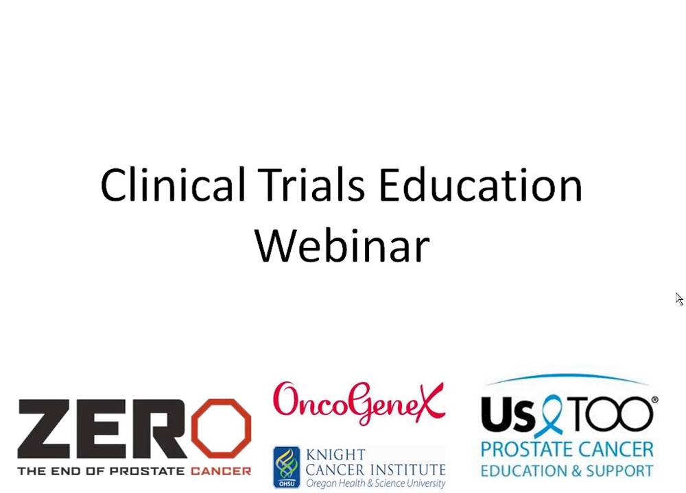 Clinical Trials | ZERO - The End of Prostate Cancer