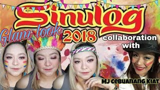 SINULOG 2018 GLAM LOOK ft. MJ Cebuanang Kiat