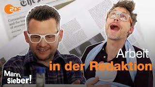 Mann, Sieber! – Die Blattmacher: Schlagzeilen über Angela Merkel