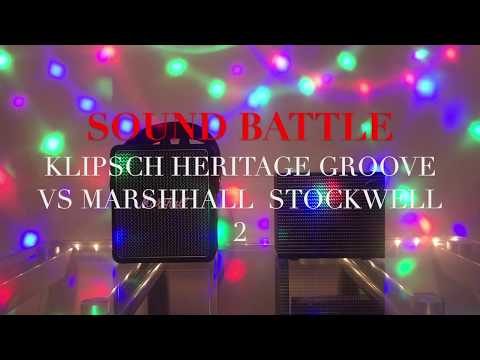 Marshall Stockwell 2 vs Klipsch Heritage Groove v Sound Battle and Review