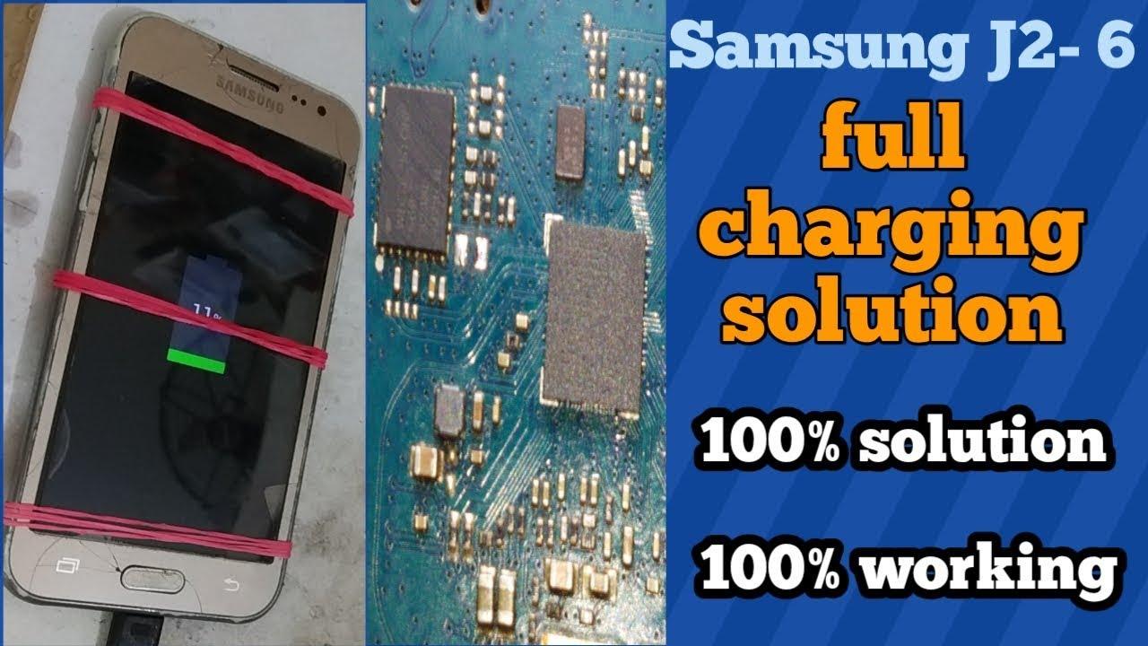 Samsung J2 6 charging solution/ how to Samsung J2 6 charging problem