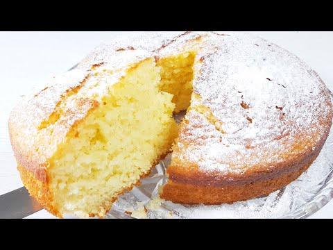 Оочень Пышный пирог без Миксера, без Весов к чаю. Нежный пирог -кекс на кефире и растительном масле