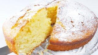 Оочень Пышный пирог без Миксера без Весов к чаю Нежный пирог кекс на кефире и растительном масле
