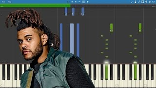 The Weeknd - Party Monster - Piano Tutorial / Cover - Instrumental