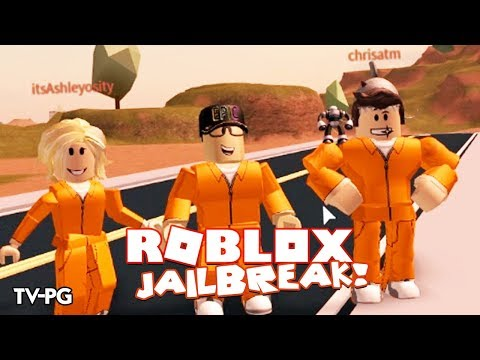 ESCAPING PRISON FOR THE FIRST TIME! | Roblox JailBreak w/Chrisandthemike & Ashleyosity