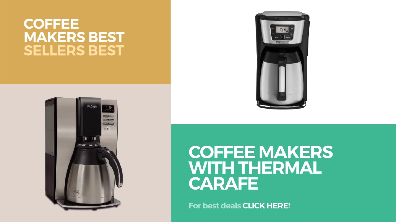 coffee makers with thermal carafe coffee makers best sellers best sellers - Thermal Carafe