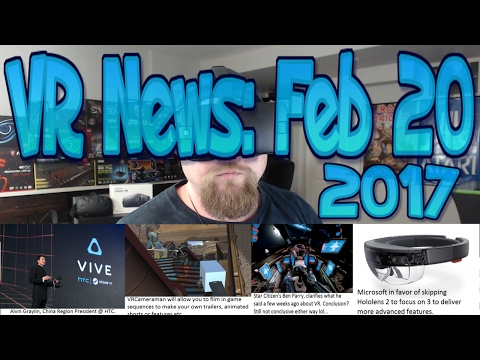 VR News: Feb 20 – VRCameraman Provides Means to Convert Any Game to Film/Short etc & More!