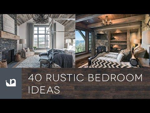 40 Rustic Bedroom Ideas