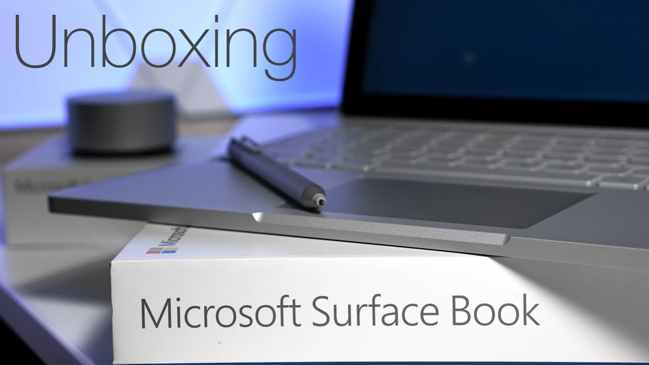 Surface Book With Performance Base Unboxing And First