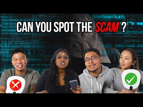 Can You Spot The Scam?   Presented by CIMB