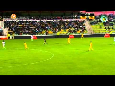 04J :: Paços de Ferreira - 2 x Sporting - 3 de 2011/2012