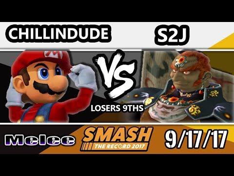 STR 2017 Smash Melee - S2J (Ganondorf)  Vs.Liquid   Chillindude (Mario) - Smash Melee Loser's 9ths