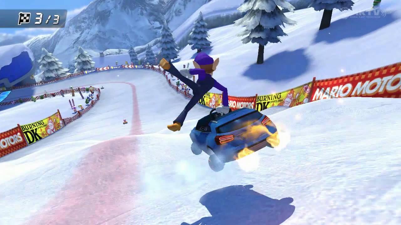 Wii U - Mario Kart 8 - Cumbre Wario