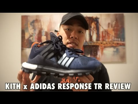 The Kith x Adidas Consortium Response Trail Boost REVIEW - YouTube 0540aec35