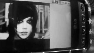 Andy Sixx Make up tutorial