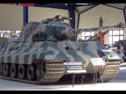 Panzer Vi Tiger Ii The Tank Museum Saumur Maine Et