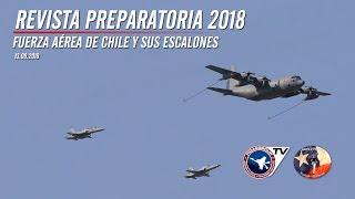 Fuerza Aérea de Chile en Revista Preparatoria de Gran Parada Militar 2018