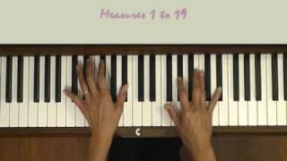Awakening of Love Piano Tutorial SLOW