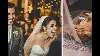 Во время свадьбы в храм вошел бездомный пес и лег на фату невесты  Вот что случилось дальше!