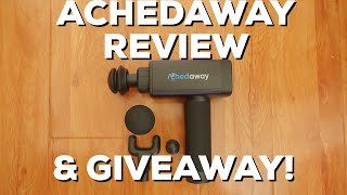 Achedaway Percussive Massager Review