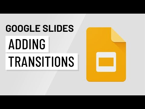 Google Slides: Adding Transitions and Animations