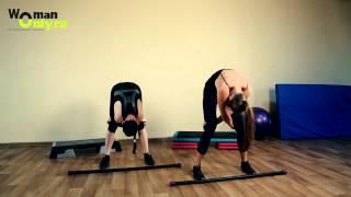 Как быстро накачать спину: упражнения для мышц спины.(Хотите быстро накачать мышцы спины? Лучшее видео с упражнениями на укрепление спины. Легко и доступно трене..., 2012-05-19T07:51:00.000Z)