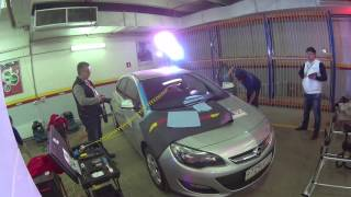 Профессиональный ремонт скола на лобовом стекле(, 2016-02-25T06:03:16.000Z)