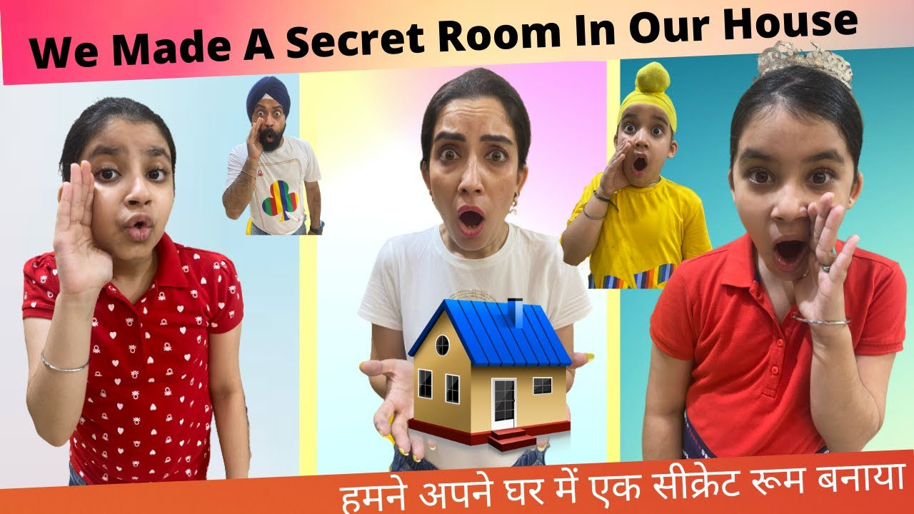 We Made A Secret Room In Our House | Ramneek Singh 1313 | RS 1313 VLOGS