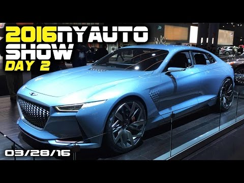 2016 New York Auto Show DAY 2 - Fast Lane Daily
