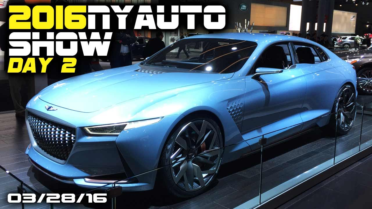 2016 New York Auto Show DAY 2 - Fast Lane Daily - YouTube
