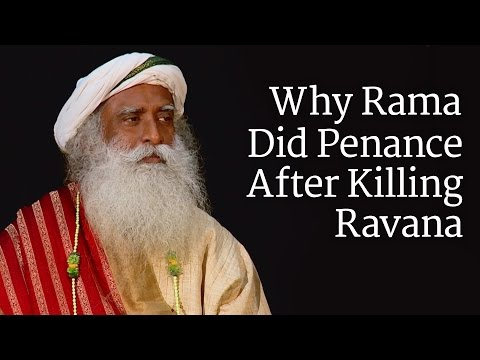 Why Rama Did Penance After Killing Ravana