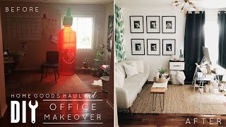 DIY Office Makeover + HomeGoods Haul